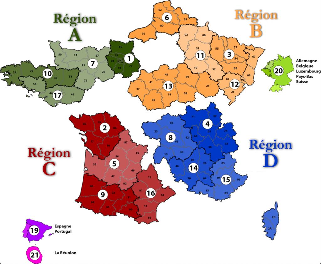 Région A.F.O.