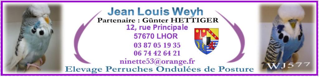 Jean Louis WEYH Partenaire Günter HETTIGER